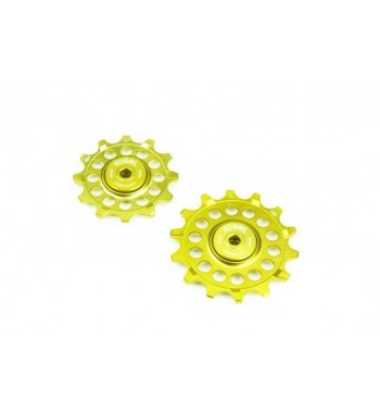 12/14T - NARROW WIDE PULLEY GOLD